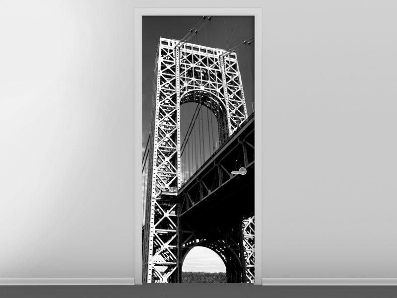 Türtapete Georg-Washington-Bridge