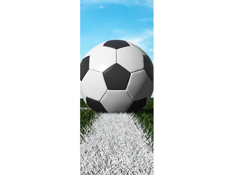 Türtapete Der Fussball