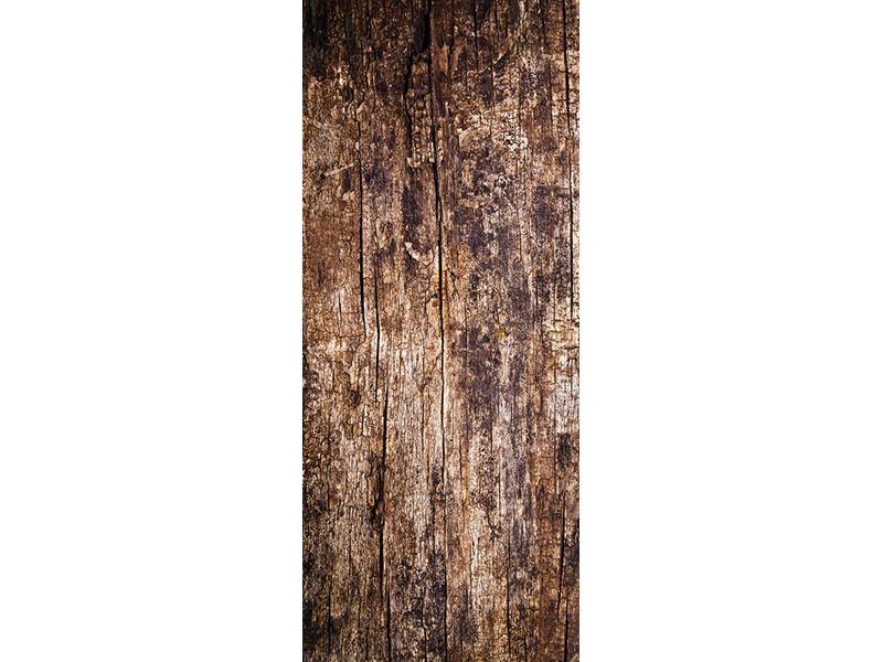 Türtapete Retro-Holz