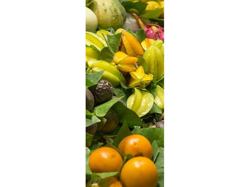 Türtapete Früchte