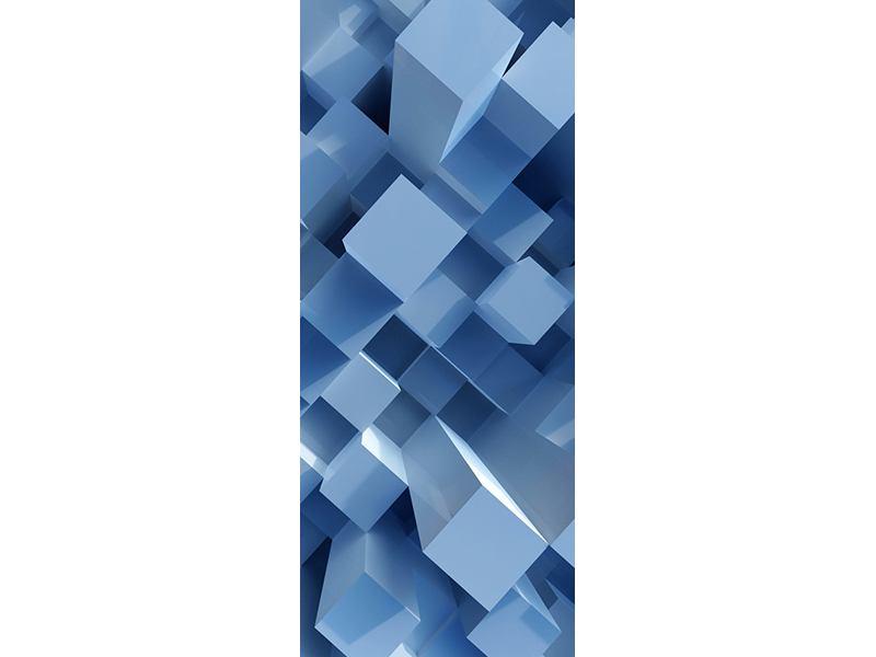 Türtapete 3D-Säulen