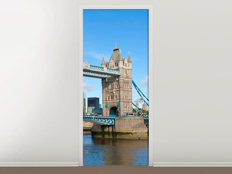 Türtapete Die Tower Bridge