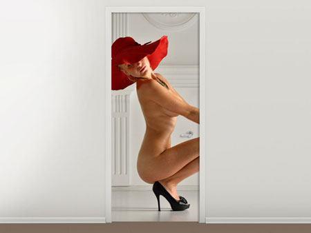Türtapete Nude-Diva