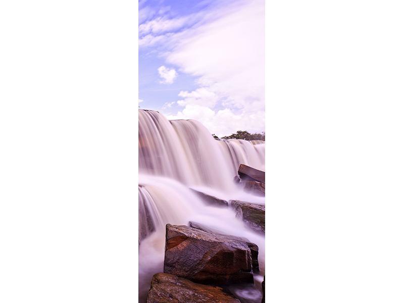 Türtapete Himmlischer Wasserfall