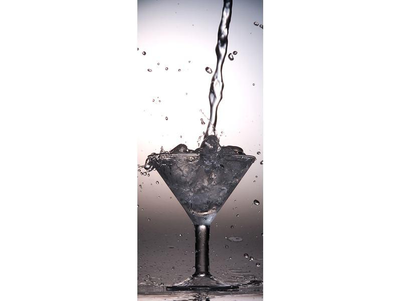 Türtapete Spritziger Martini