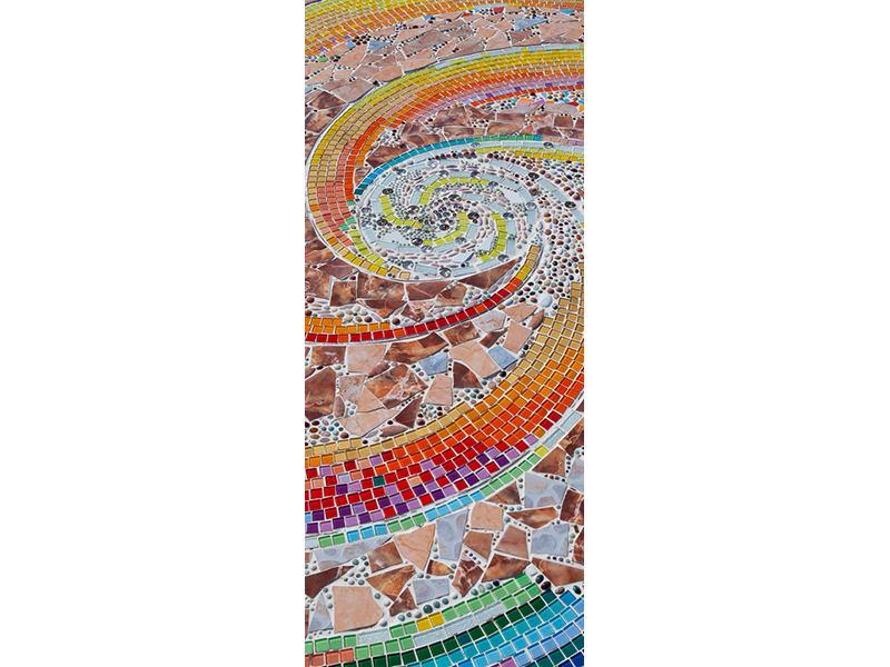 Türtapete Mosaik