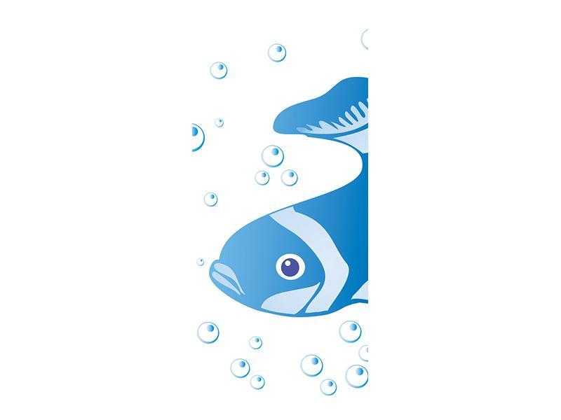 Türtapete Fischi