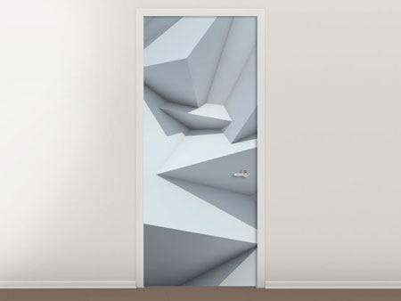 Türtapete 3D-Kristallo
