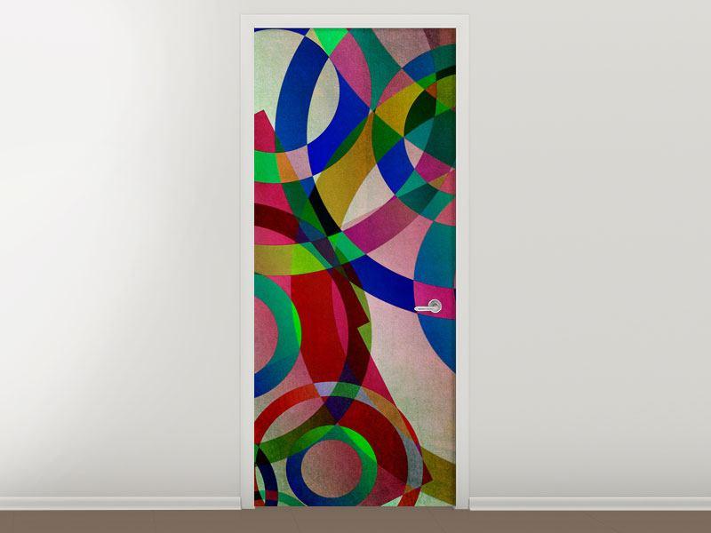 Türtapete Wandkunst
