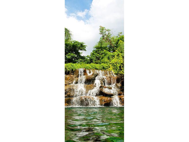 Türtapete Lagune
