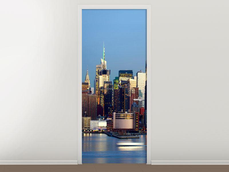 Türtapete Skyline Midtown Manhattan