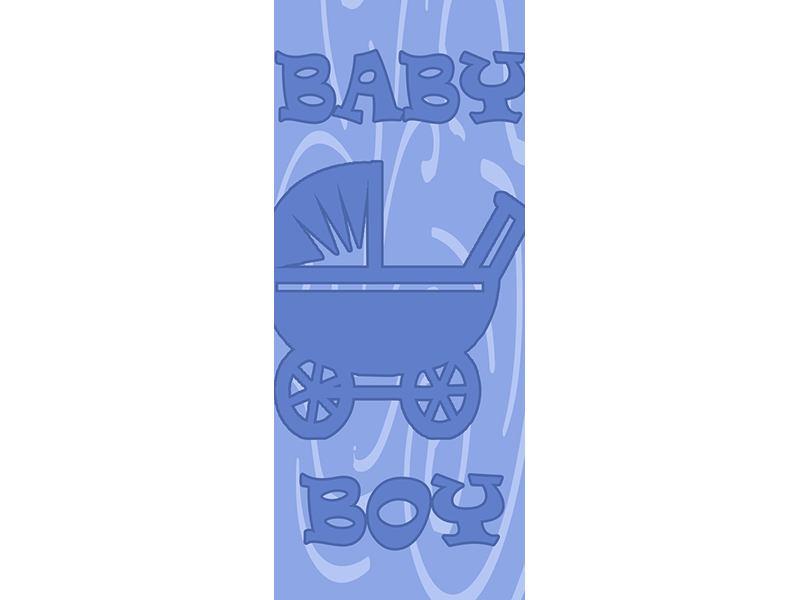 Türtapete Baby-Boy
