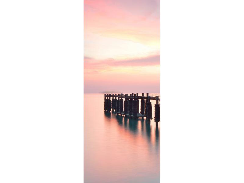 Türtapete Der beruhigende Sonnenuntergang