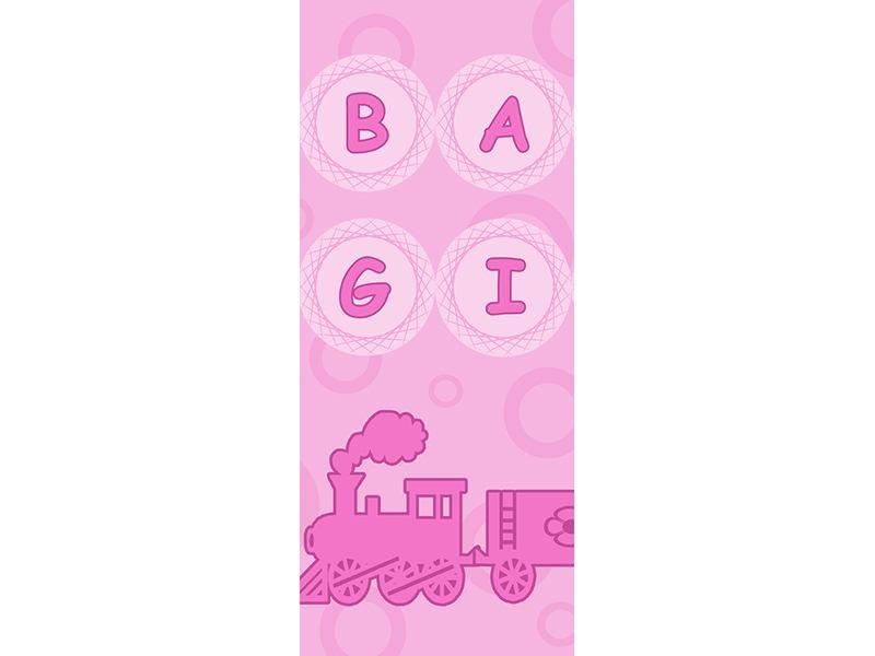 Türtapete Baby-Girl