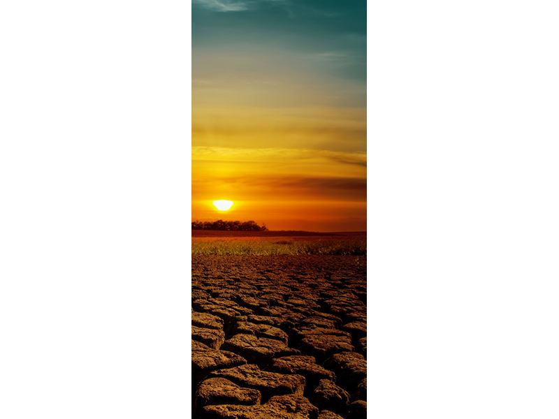 Türtapete Afrikas Dürre