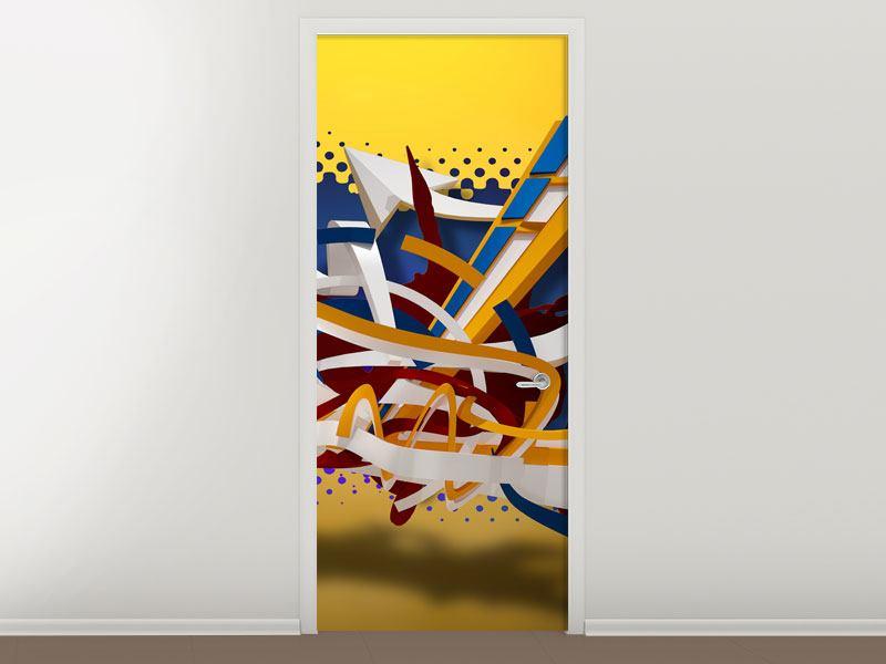 Türtapete Graffiti Art