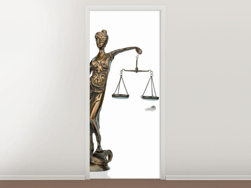 Türtapete Justitia
