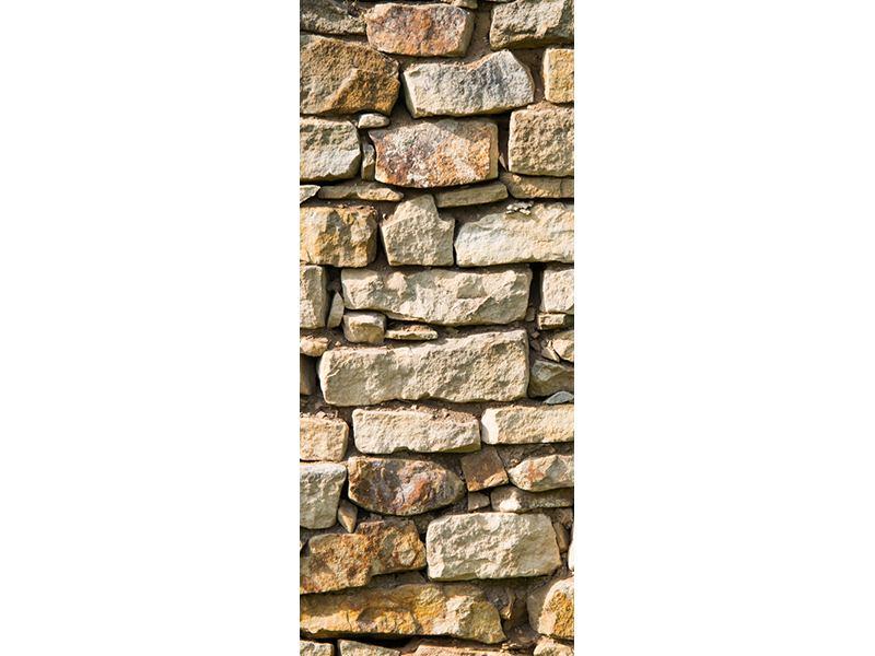 Türtapete Natursteine