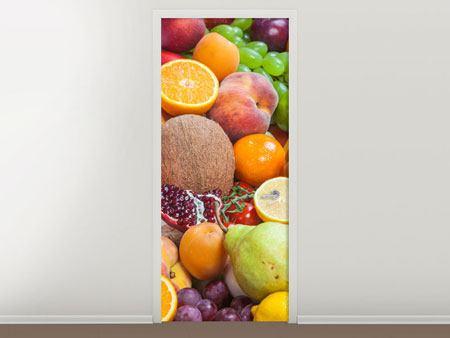 Türtapete Frische Früchte