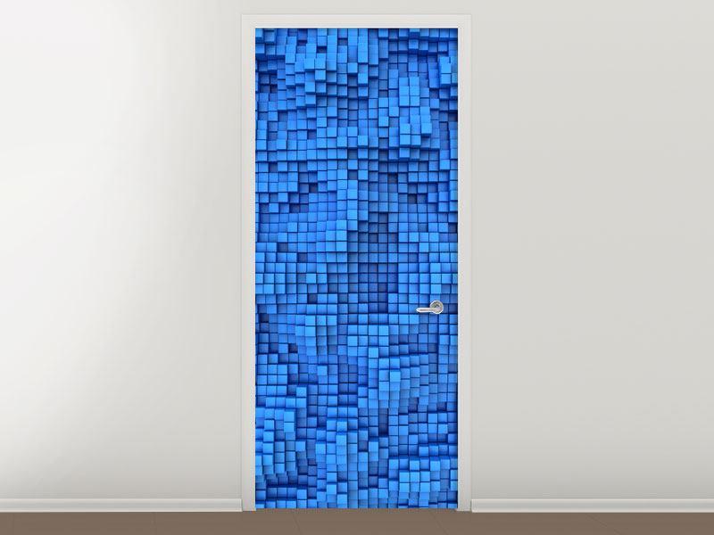 Türtapete 3D-Mosaik