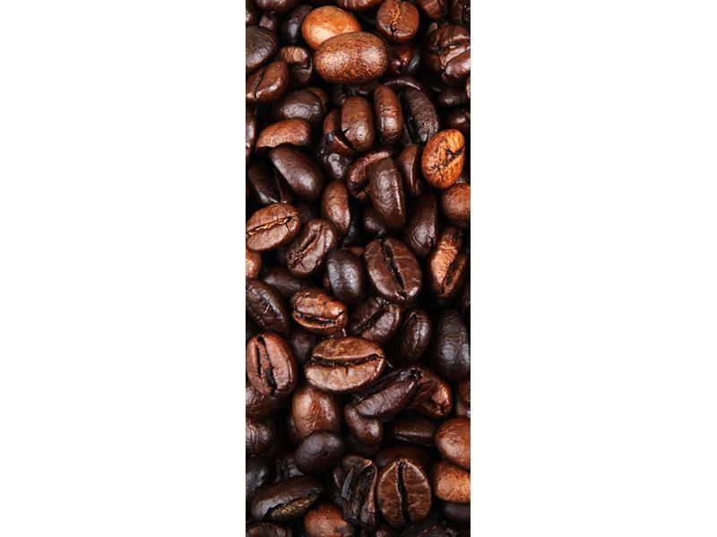 Türtapete Kaffeebohnen in XXL