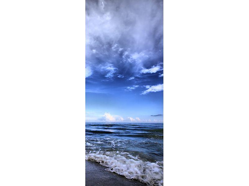 Türtapete Strandwellen