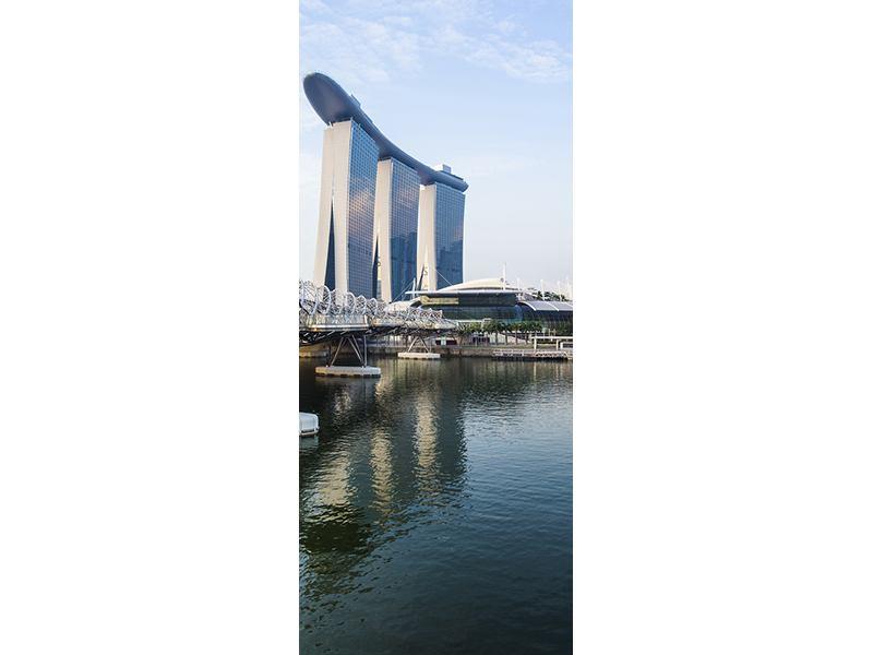Türtapete Singapur