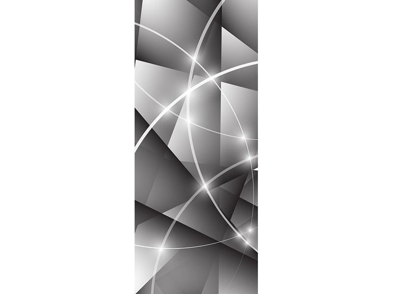 Türtapete Geometrie