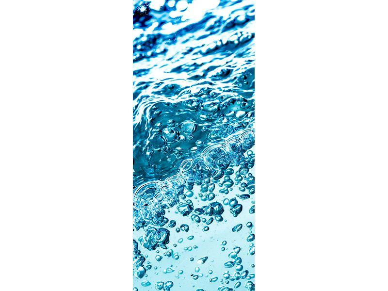 Türtapete Wasser in Bewegung