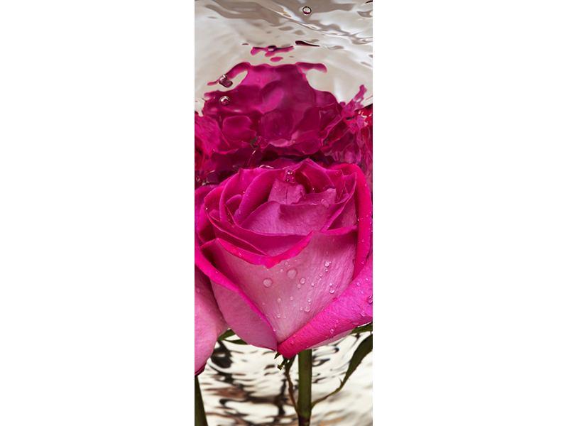 Türtapete Die Rosenspiegelung