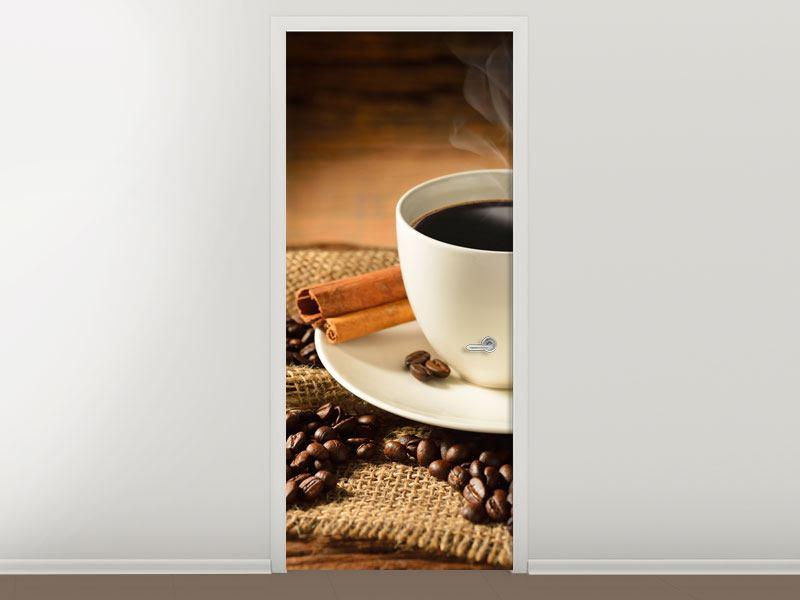 Türtapete Kaffeepause