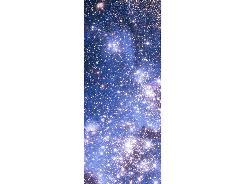 Türtapete Sternenhimmel
