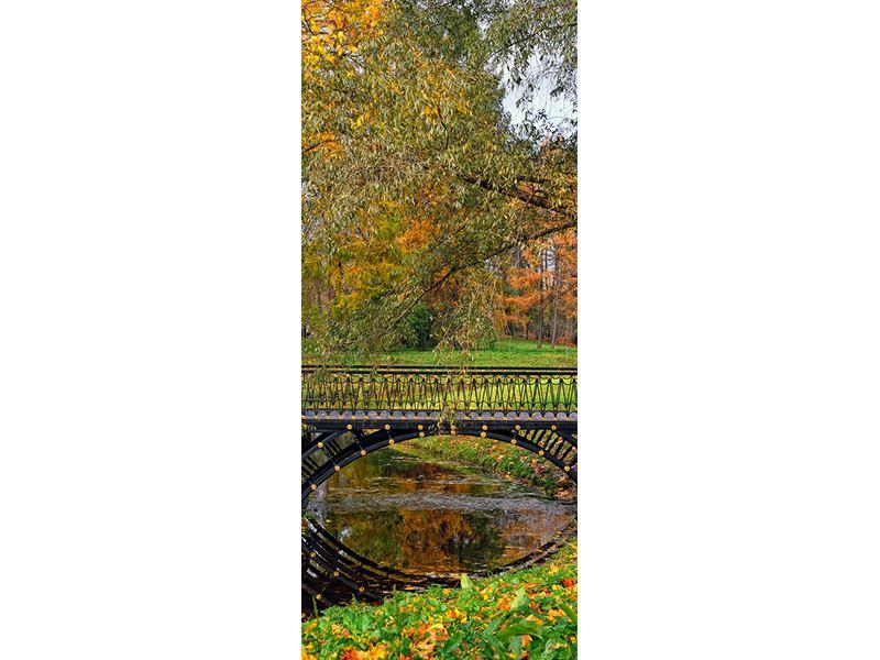 Türtapete Romantischer Park