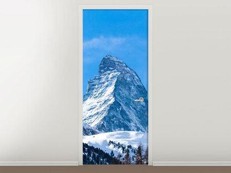Türtapete Das majestätische Matterhorn