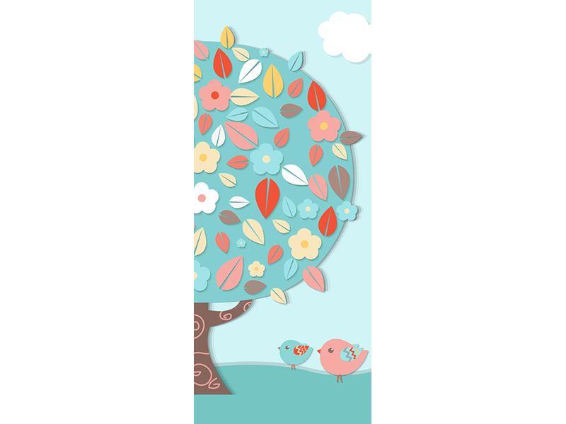 Türtapete Der Kinderzimmer Baum