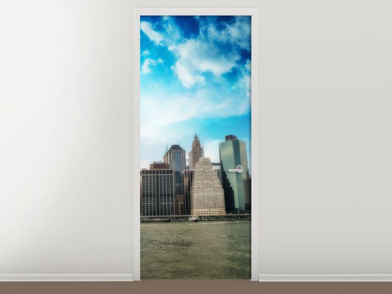 Türtapete Skyline Lower Manhattan