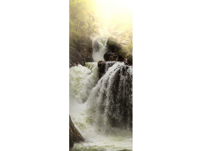 Türtapete Der Wasserfall