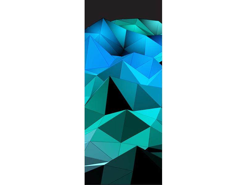 Türtapete 3D-Diamonds