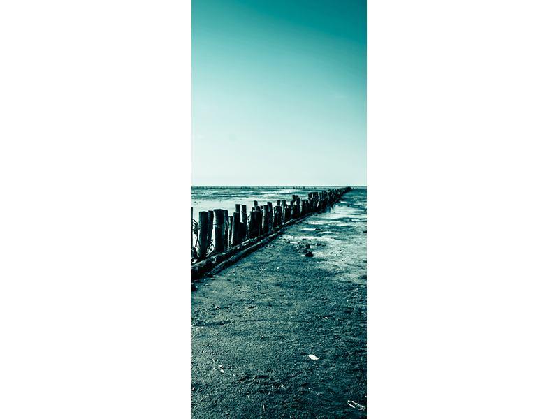 Türtapete Das Wattenmeer