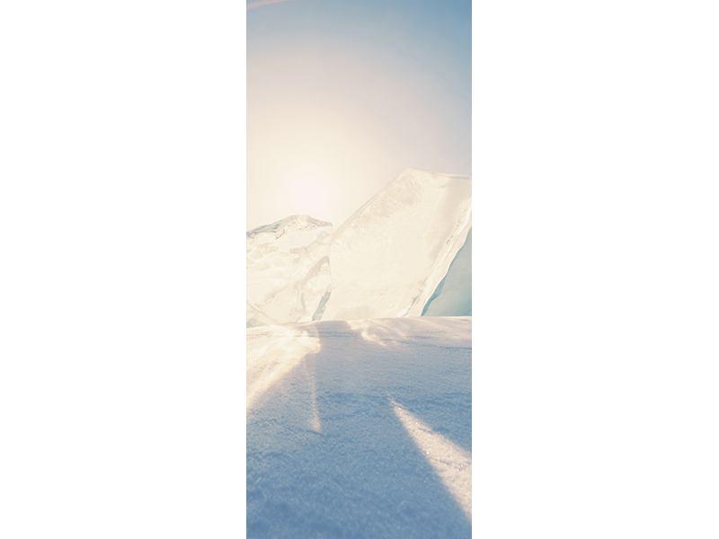 Türtapete Eislandschaft