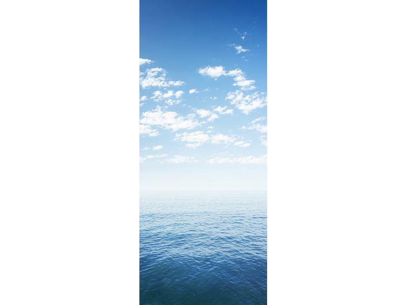 Türtapete Unendlichkeit Meer