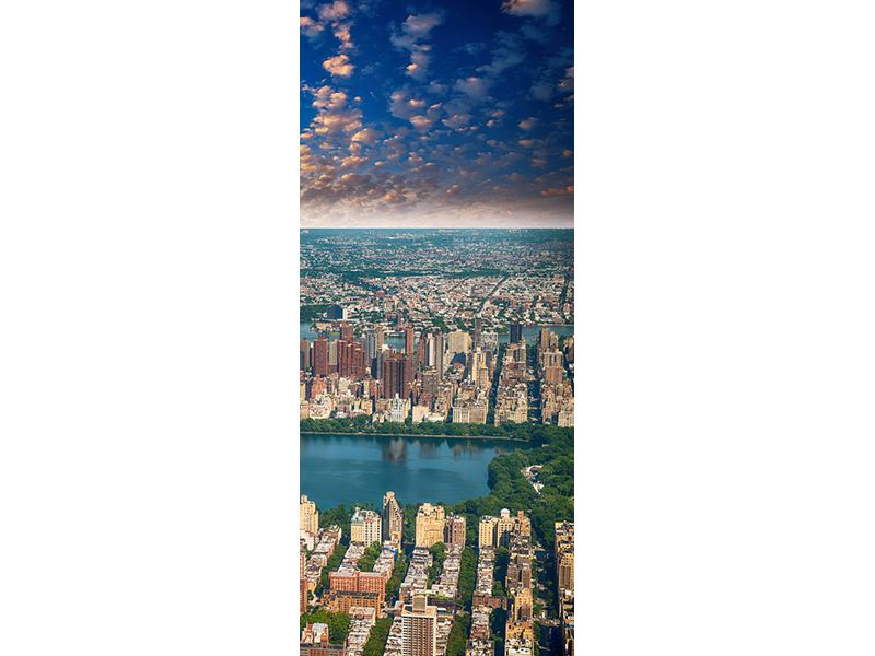 Türtapete New York