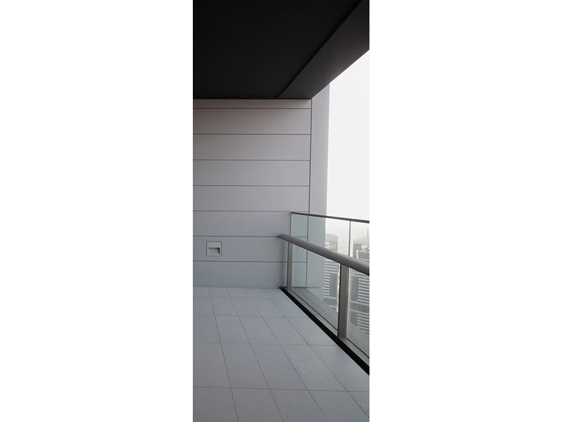 Türtapete Balkon in Dubai