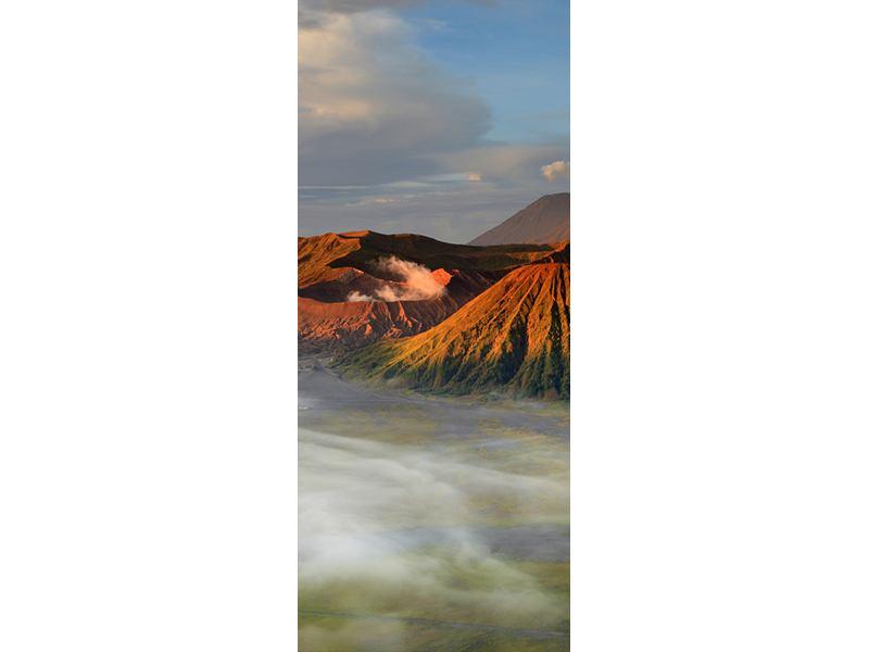 Türtapete Der Bromo Vulkan