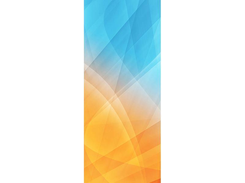 Türtapete Abstrakte Fliessende Farben