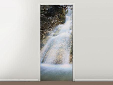 Türtapete Imposanter Wasserfall