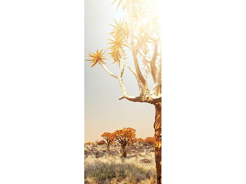 Türtapete Afrikanische Landschaft