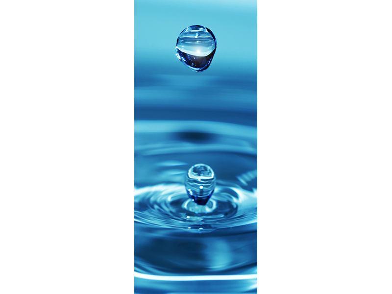 Türtapete Der Wassertropfen