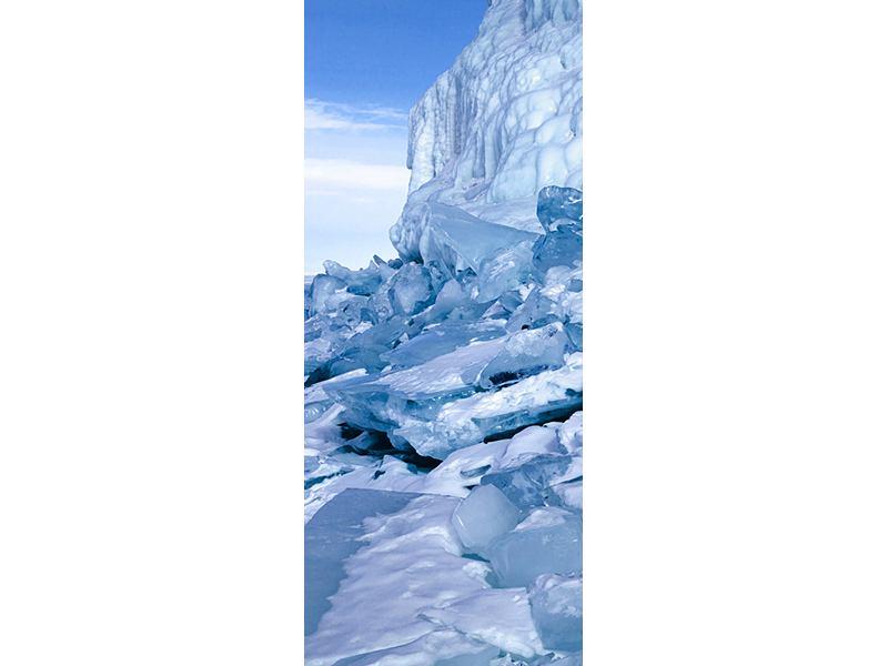 Türtapete Eislandschaft Baikalsee