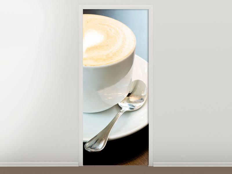 Türtapete Lieblingskaffee